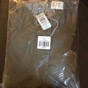 Torrid olive grey anorak jacket